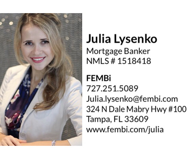 Russian Speaking Mortgage Banker in Florida